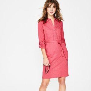 BODEN| Jena Jersey Shirt Dress Sz: 10
